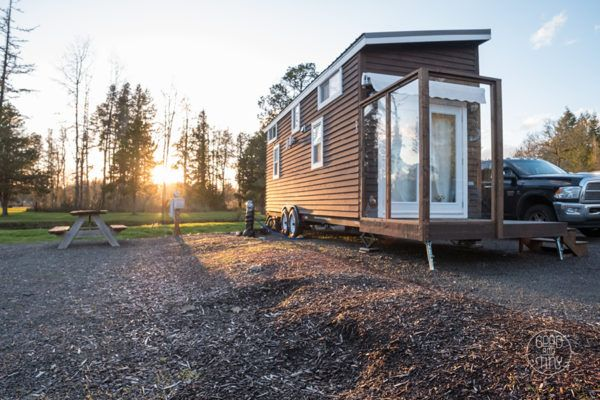 Interview (& Video): Jadon and Katie\'s Good and Tiny House | Tiny ...