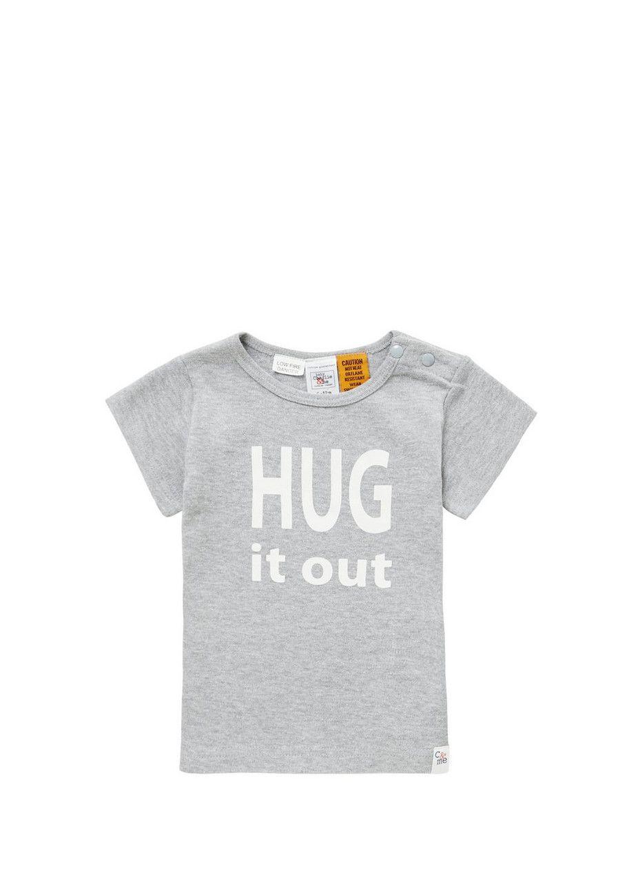 Charlie & Me Hug It Out Slogan T-Shirt £5