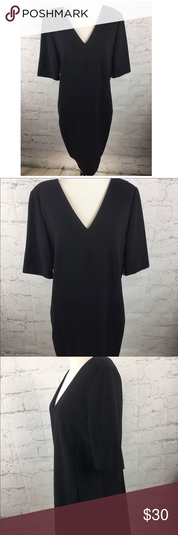 Lord & Taylor V dress sz 10 NWT NWT | Black shift dresses, Lord and ...
