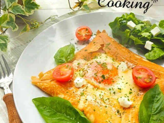 ホットケーキミックスでガレット朝食ランチ | レシピ | cooking ...