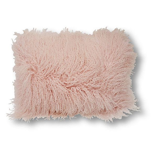 Tibetan Wool 40x40 Pillow Pink Decorative Pillows 405 Liked On Unique Light Pink Decorative Pillows