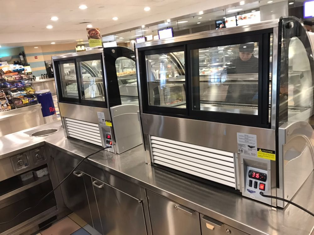A couple vollrath refrigerated display cases httpswww