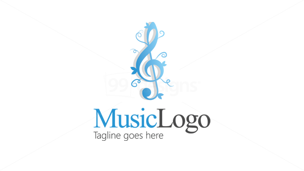 music logo with tagline excellent logos pinterest