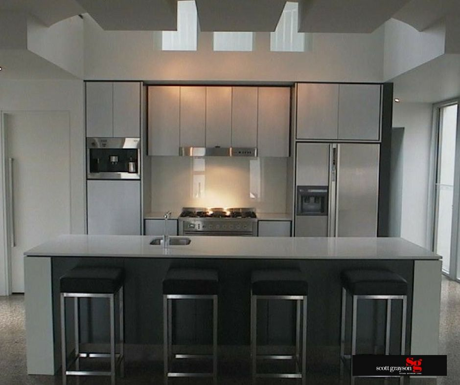 Icm Geelong Kitchen Of The Week Sleek And Simple From Scott