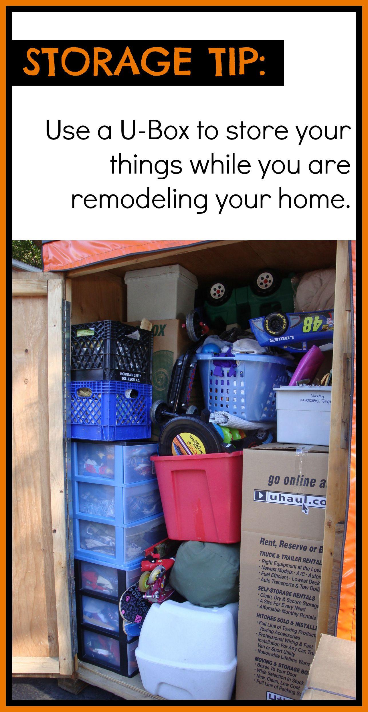 Rent a storage box