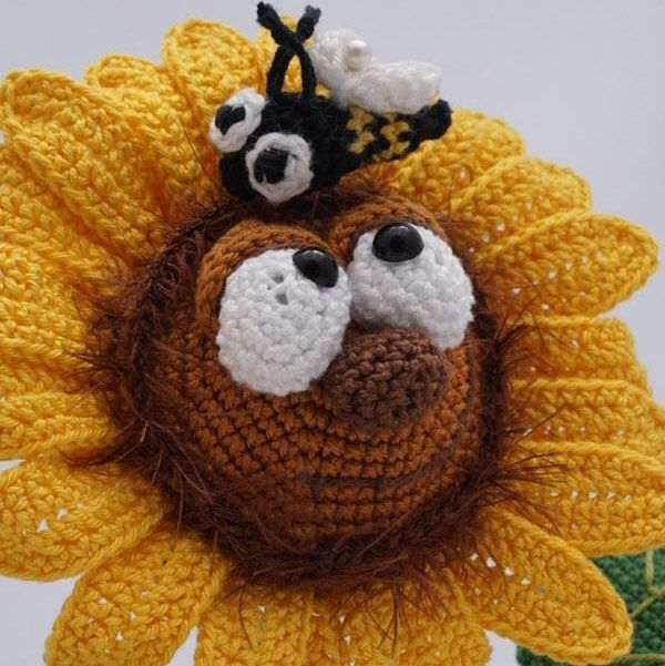 Amigurumi Crochet Pattern - Sonny the Sunflower - English Version ...