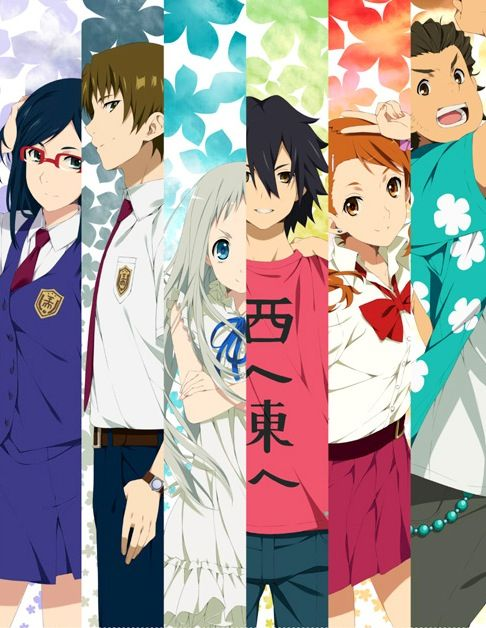 Anohana The Flower We Saw That Day Anime Anohana Anime Images