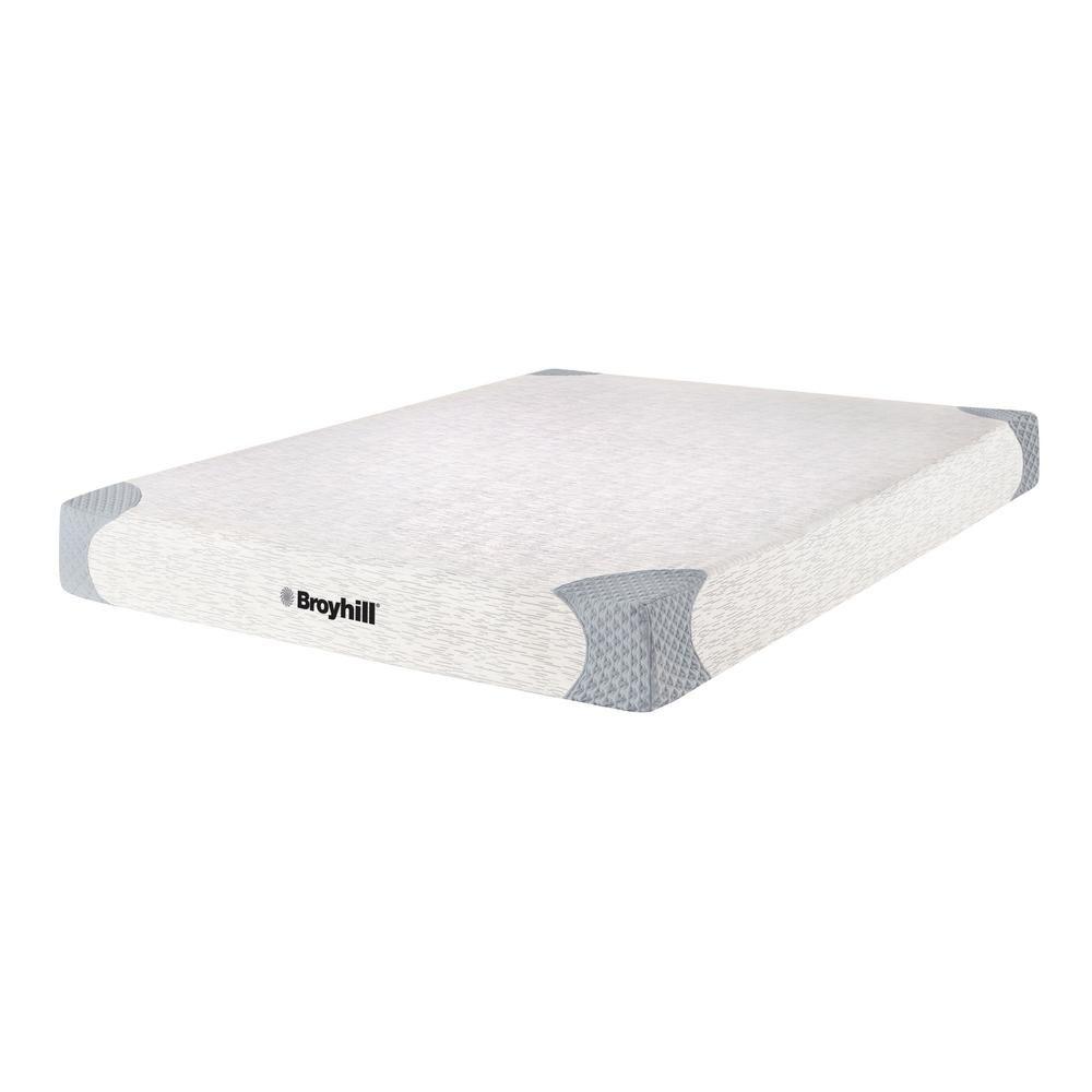 Broyhill Sensura 10 In Twin Xl Medium Firm Memory Foam Mattress In