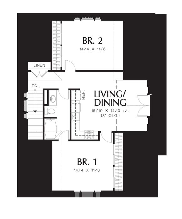 Garage Apartment Plans 2 Bedroom: Carriage House Plans, House Plans