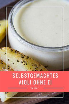 Unschlagbares Duo: Kartoffelecken mit Rosmarin & selbstgemachtes Aioli