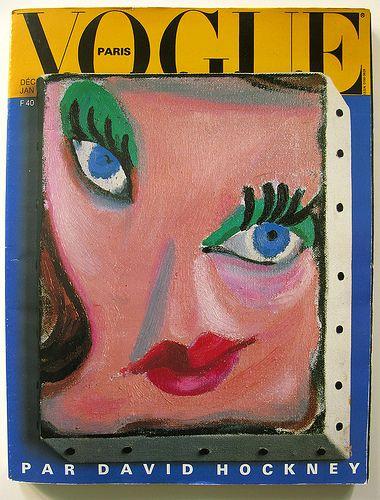 Inspiration | Vogue Paris 1985 by David Hockney
