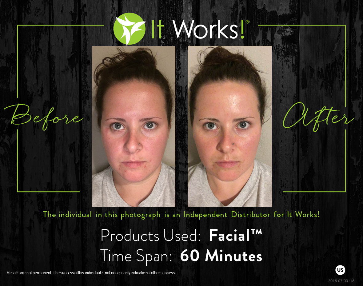 Gorgeous Glowing Skin Http Michelleburnette Myitworks Com It Works Facials It Works Global It Works Wraps