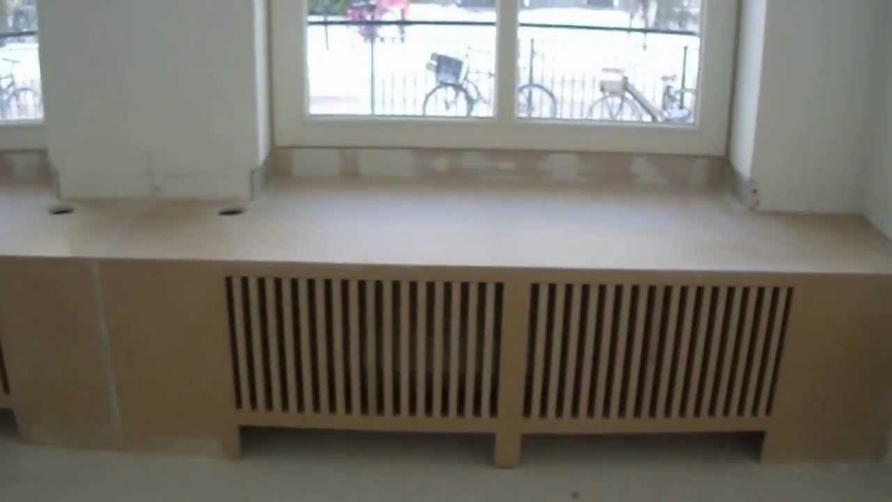 Radiator Woonkamer Meubels : Hoe maak je zelf een radiator ombouw waar je op kunt zitten
