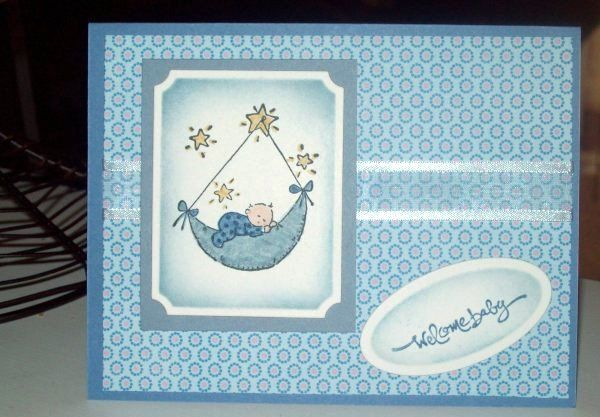 Welcome Baby by willowby - Cards and Paper Crafts at Splitcoaststampers