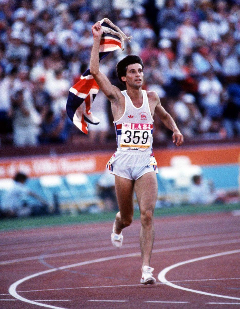 Sebastian Coe Olympic Hero Summer Olympic Games Sebastian Coe