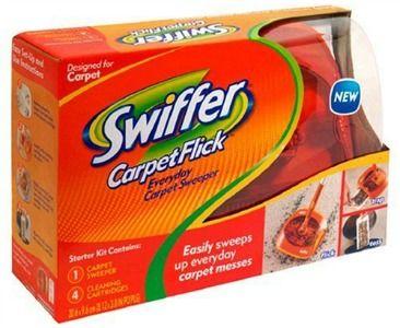 Swiffer Carpet Flick Review Great For Picking Up Long Hair Carpets For Kids Carpet Runner Starter Kit