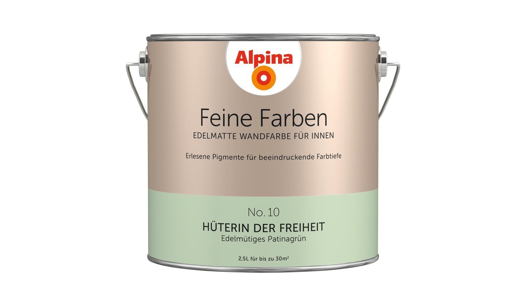 Alpina Farbe Alpina Feine Farben Huterin Der Freiheit 2 5 L