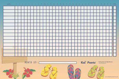 Star Behavior Chart For Kids  Kid Pointz  Disciplining Kids