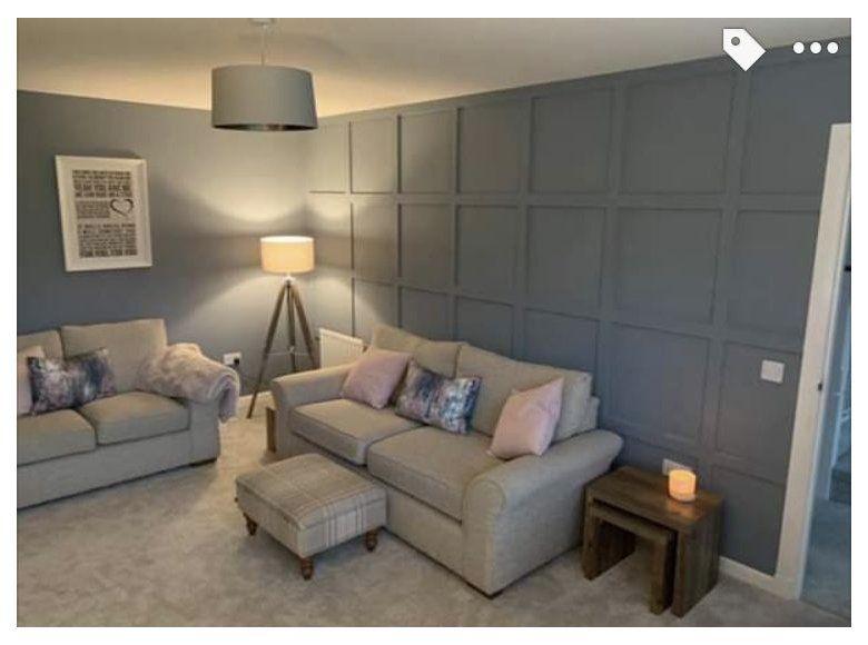 Denim Drift Paint Denimdriftpaint Living Room Panelling Living Room Decor Fireplace Denim Drift Living Room
