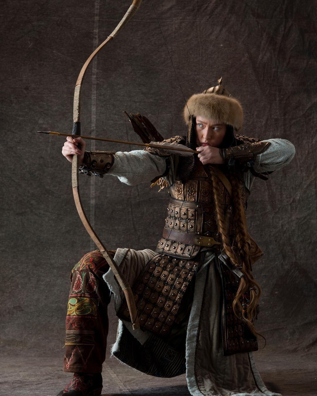 легендарные лучники фото помощью шнура колышков