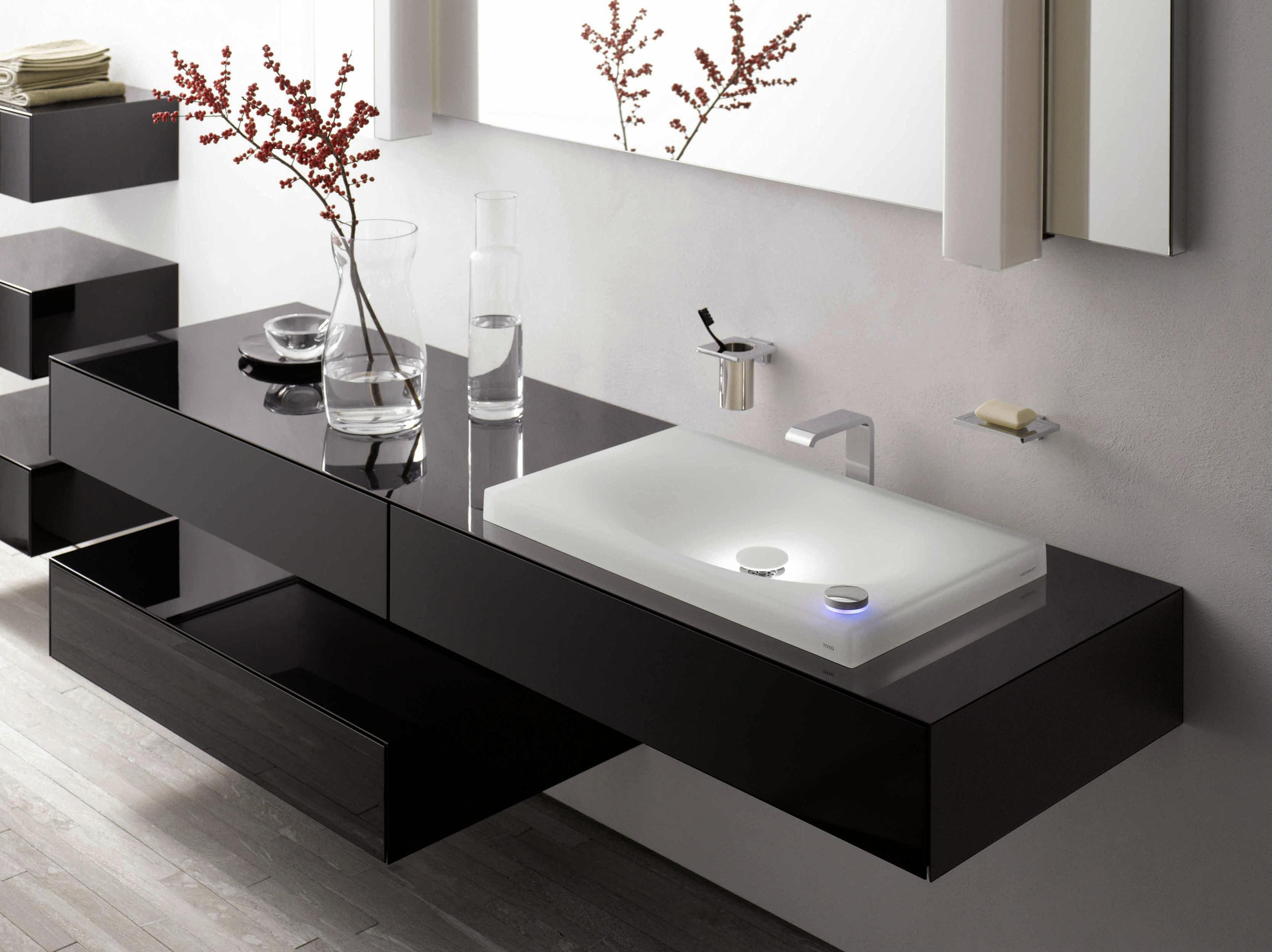 Toto Badmöbel   Moderne badezimmer waschbecken, Badezimmer ...