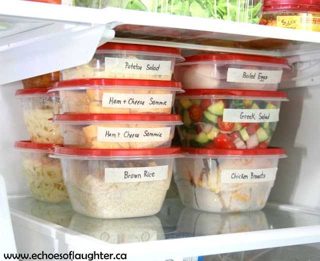 Organizing the fridge for healthy fast food at home healthy fast organizing the fridge for healthy fast food at home forumfinder Choice Image