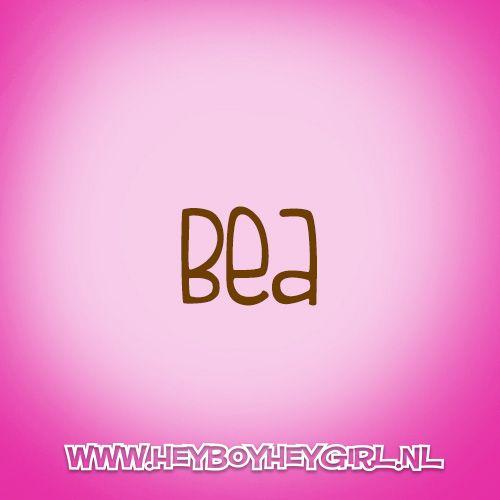 Bea (Voor meer inspiratie, en unieke geboortekaartjes kijk op www.heyboyheygirl.nl)