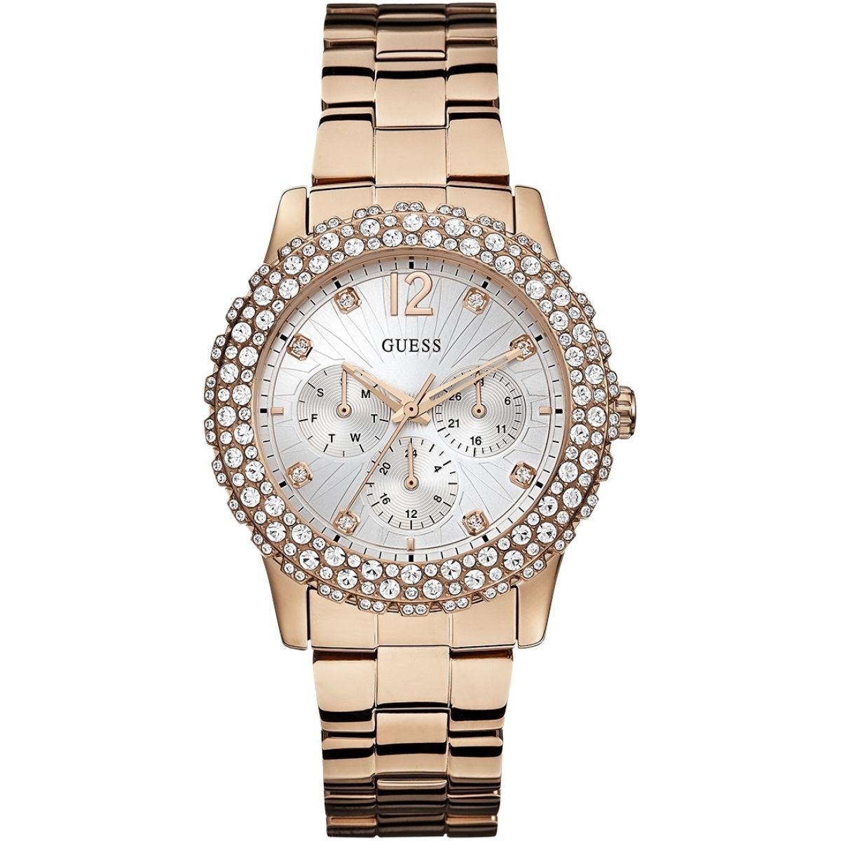 così economico ultimo design più foto Ladies Guess Dazzler Watch (W0335L3) | WatchShop.com™ | Bilezik ...