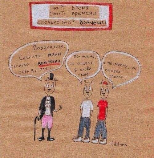 Грамматика русского языка с юмором | Русский язык
