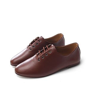 (ZSH009-BROWN) Casual Colorful Sneakers Walkers Shoes