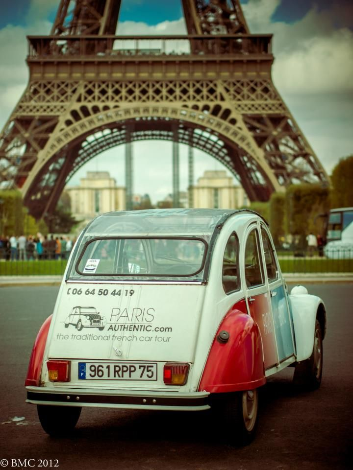 paris tour citro n 2cv fan pics pinterest vintage och inspiration. Black Bedroom Furniture Sets. Home Design Ideas