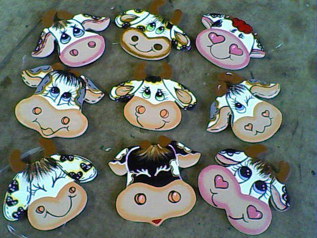 Moldes Infantiles De Vaquitas Tiernas Para Imprimir Felting Projects Crafts Cow