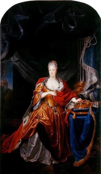 Louis de Silvestre, Christiane Eberhardine  von Brandenburg-Bayreuth (ca 1737)