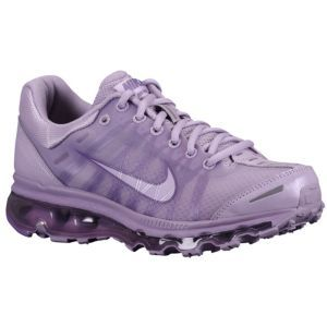 Nike Air Max 2009 Leather - Women's - Running - Shoes - Violet Wash/Metallic