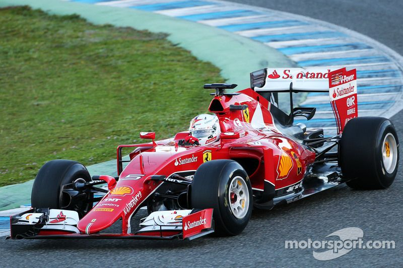 Sebastian Vettel Ferrari Sf15 T Ferrari Formula 1
