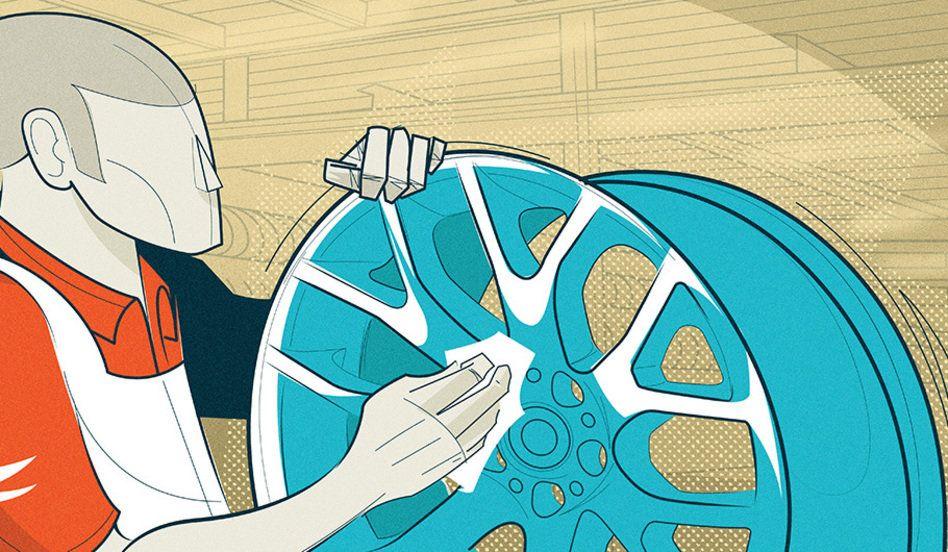 Canadauence TV: Roda de liga leve, conserto inadequado ou comprar ...