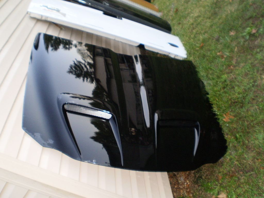 medium resolution of 99 05 pontiac grand am gt ram air hood oem factory rare black