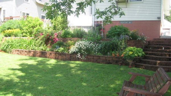 Garden My Back Yard Tiered Garden
