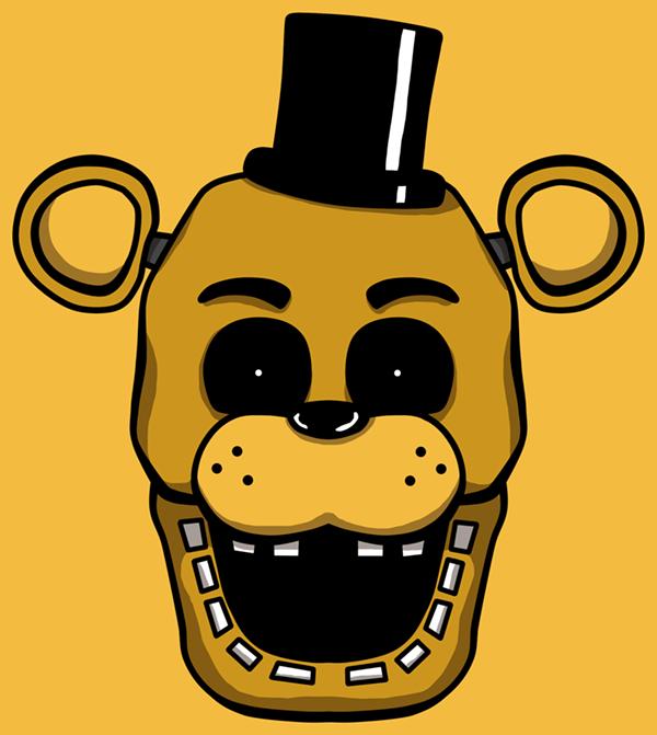 Golden Freddy Head By Kaizerin On Deviantart Fnaf Golden Freddy Five Nights At Freddy S Freddy S