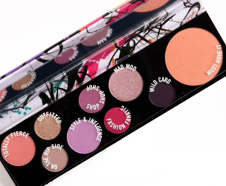 Sneak Peek Mac Fashion Fanatic Palette Photos Swatches