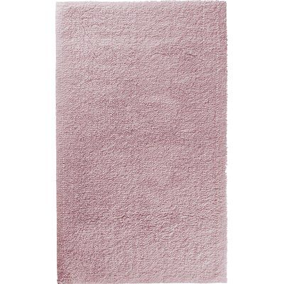 The St. Pierre Home Fashion Collection Graccioza Comfort Spa Sponge Bath Sheet Color: Blush