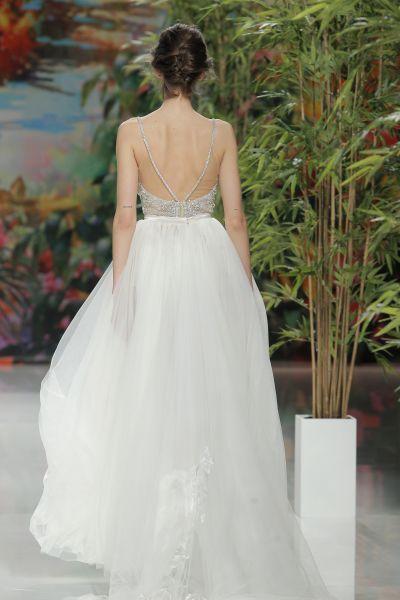 50 vestidos de novia con espalda descubierta 2017: ¡te cautivarán! Image: 14