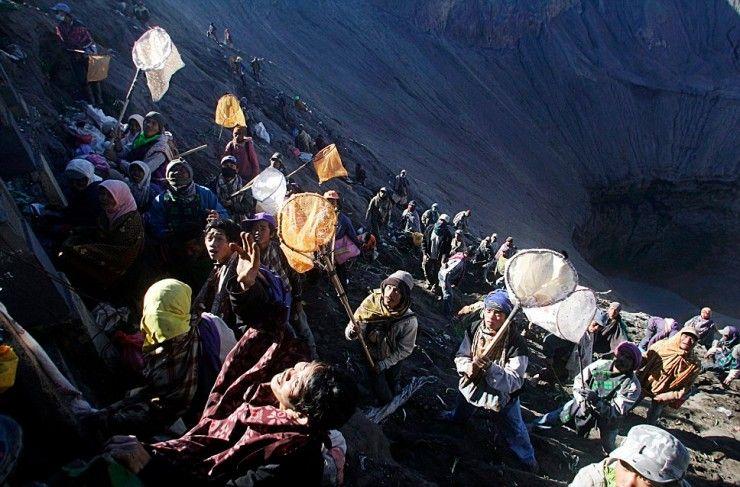 Mount Bromo and Mount Semeru, East Java, Indonesia