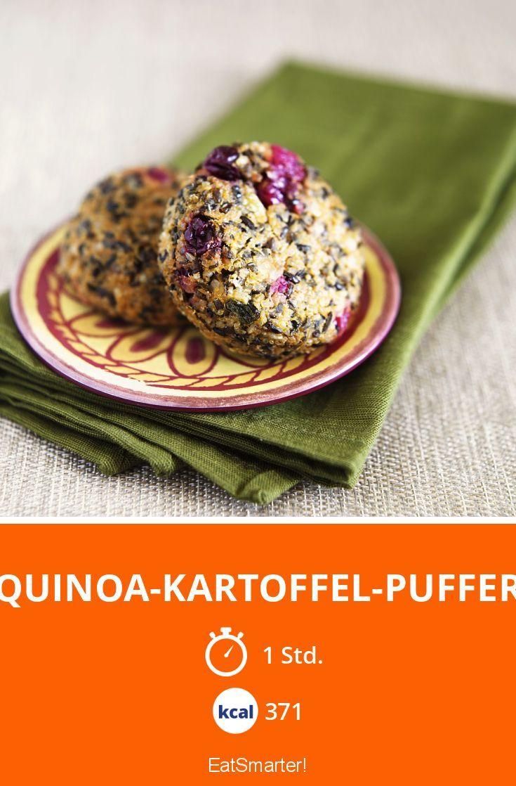Kartoffel Kcal quinoa kartoffel puffer rezept quinoa kartoffeln und