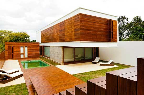 Modern Wooden House Design Modern Architecture Minimalist Design