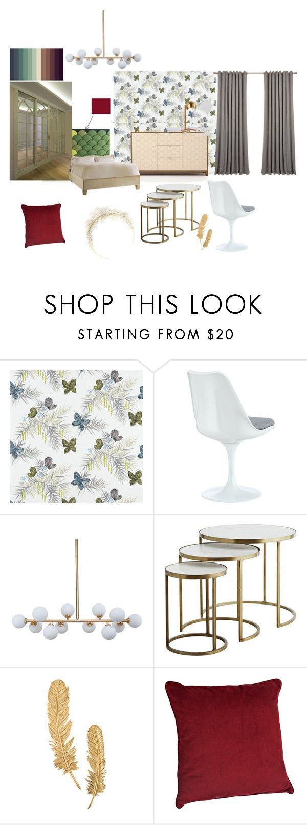 """girls room"" by mukhtarova-patimat on Polyvore featuring interior, interiors, interior design, дом, home decor, interior decorating и Hooker Furniture"