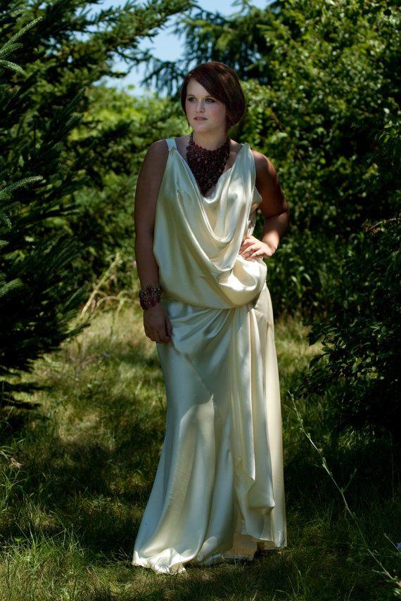 Wedding Dress 1920s Vintage Style 1930s by RetroVintageWeddings, $679.00