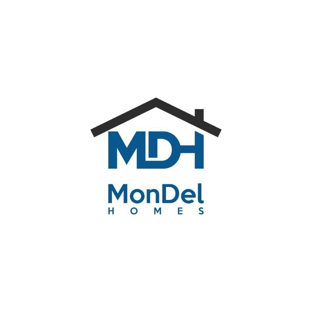 logo design for MDH homes   logo design   Pinterest