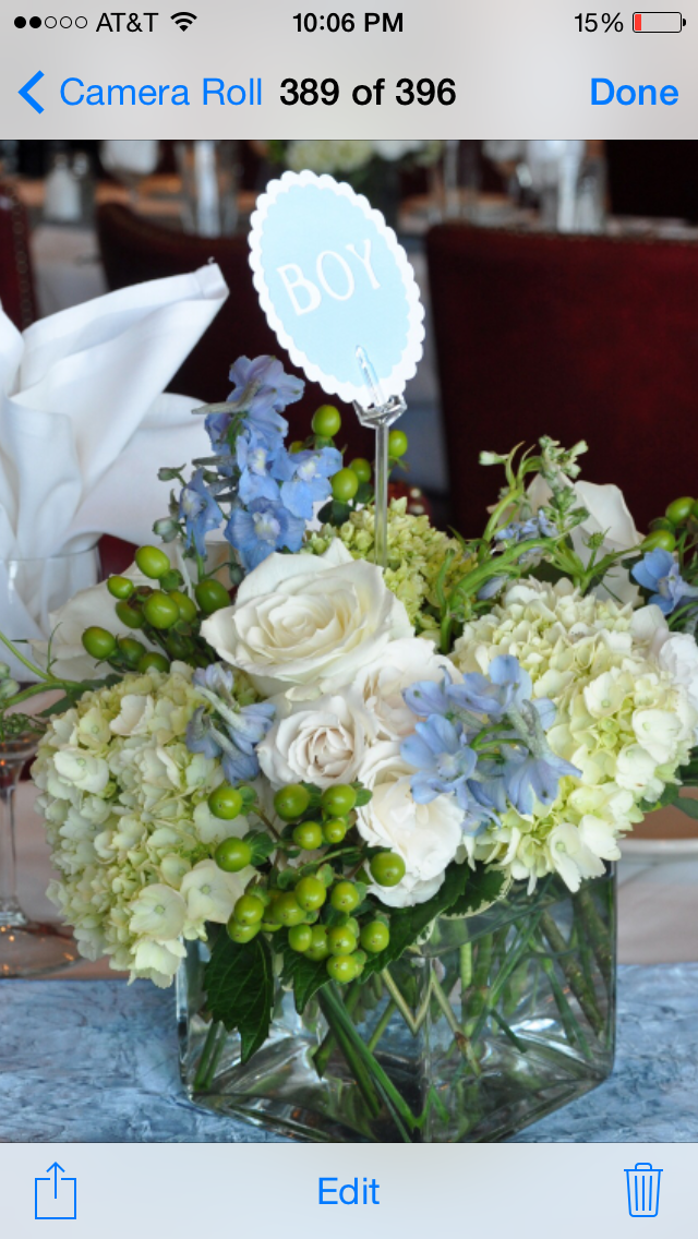 Baby Boy Shower Flowers Baby Shower Flowers Boy Baby Shower