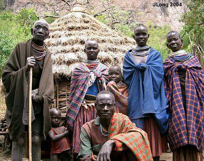 2D to 3D Conversions - Karamajong people of Uganda